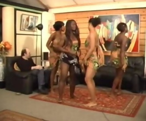 Africanal Dancing Off out of..