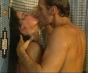Shower sexual connection retro